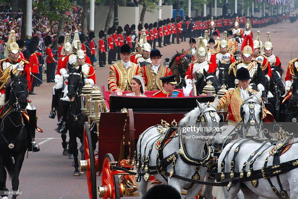 UK - Wedding of Prince William & Kate Middleton : Fotografía de noticias