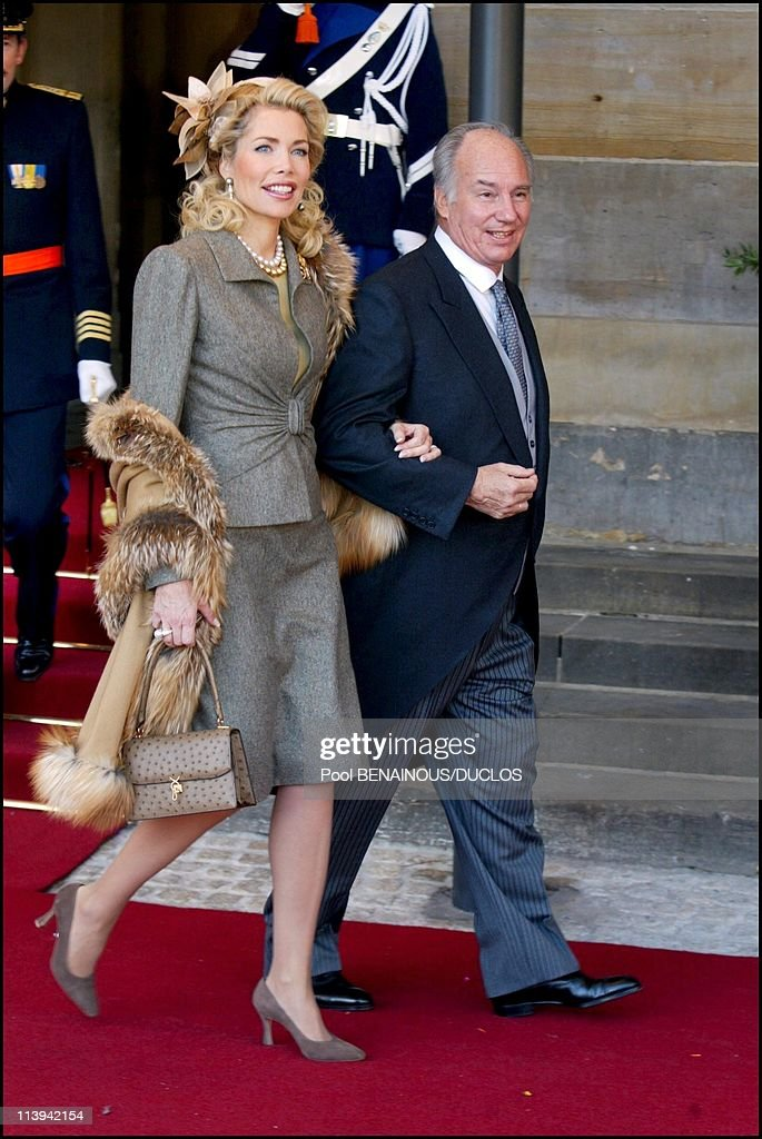 Royal Wedding of the Prince Willem-Alexander with Maxima Zorreguieta In Amsterdam, Netherlands On February 02, 2002- : News Photo