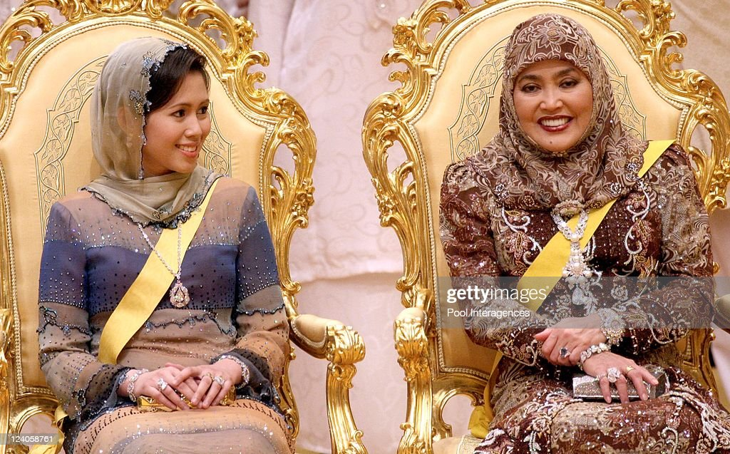 Royal Wedding Of The Princess Majededah The Daughter Of The Sultan Of Brunei Hassanal Bolkiah, With Yag Mulia Pengiran In Brunei Darussalam On June 07, 2007. : News Photo