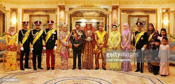 Royal Wedding of the Princess Majededah the daughter of the Sultan of Brunei Hassanal Bolkiah,with Yag Mulia Pengiran In Brunei Darussalam On June...