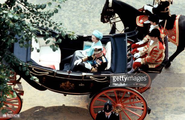 Royal Wedding Photo of Queen Elizabeth and Prince Philip taken by Ron Bull July 29 1981