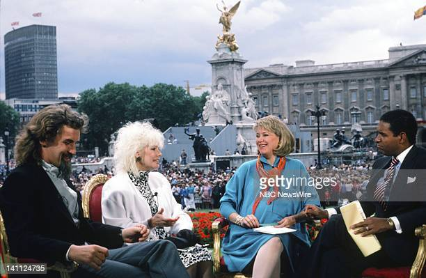 TODAY Royal Wedding Prince Andrew and Sarah Ferguson Pictured Husband wife actor Billy Connolly actress Pamela Stephenson NBC News' Jane Pauley...