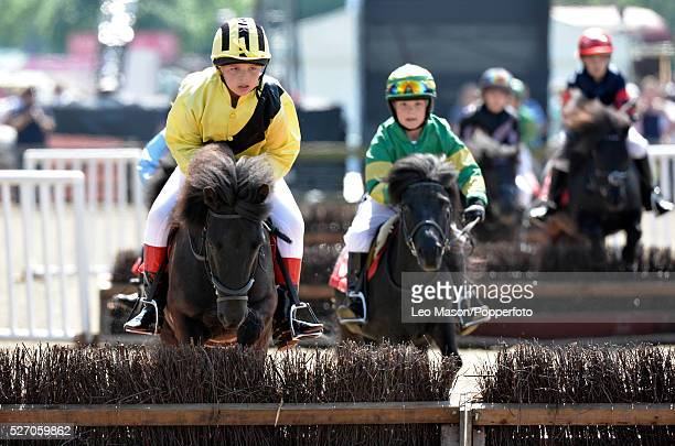 Royal Windsor Horse Show inside the private grounds of Windsor Castle UK Shetland Pony Grand National Final