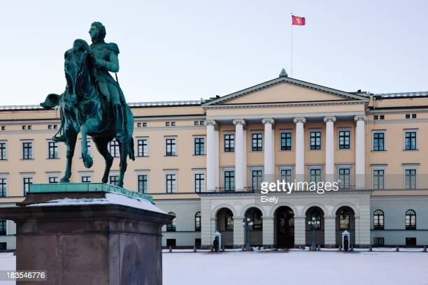 Royal Palace in Oslo.