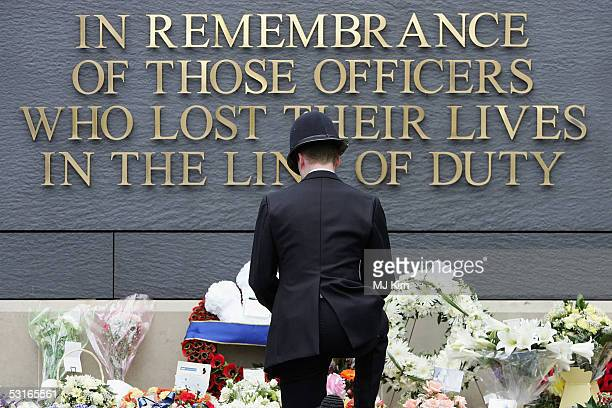 royals attend met police memorial service - memorial event stock pictures, royalty-free photos & images