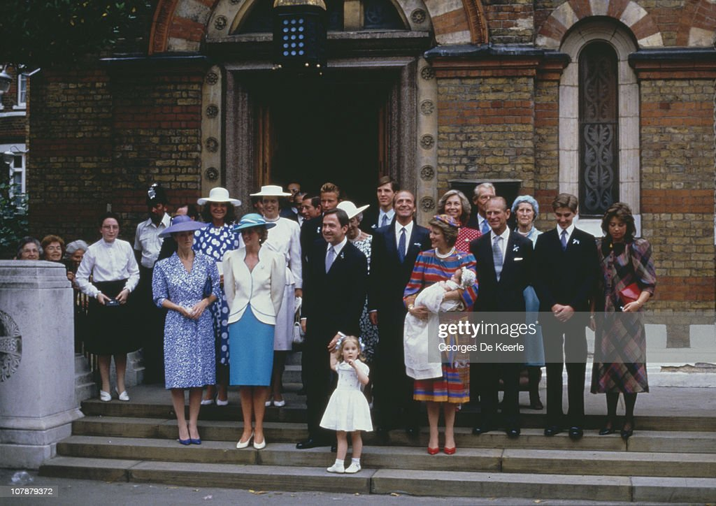 Greek Prince's Christening : News Photo