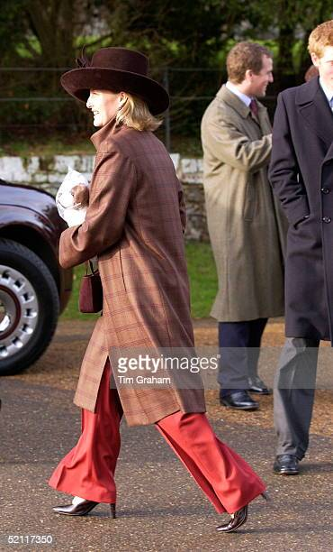 Royals Gather For A Family Christmas At Sandringham And Attend The Traditional Church Service Sophie Countess Of Wessex