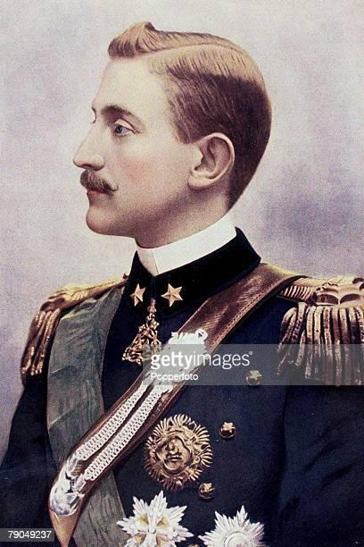 Royalty, 19th Century, A portrait of his Royal Highness Emanuele Filiberto Vittorio Eugenio Genova Giuseppe Maria, the Duke of Aosta