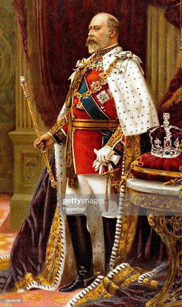 Royalty A portrait of his Royal Highness King Edward VII ...  Royal