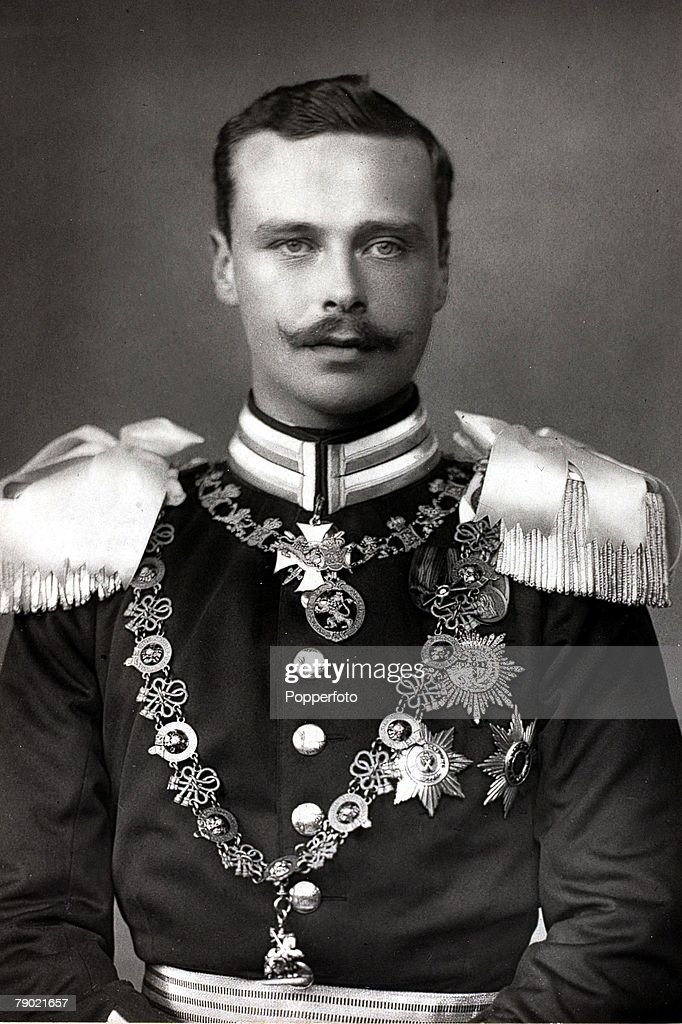 Royalty. Ernest Louis, Grand Duke of Hesse, portrait, (1868-1937) : News Photo
