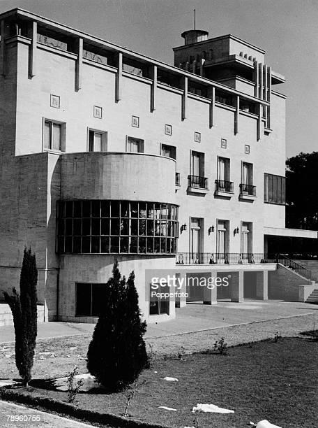circa 1950's The modern Imperial Palace Tehran