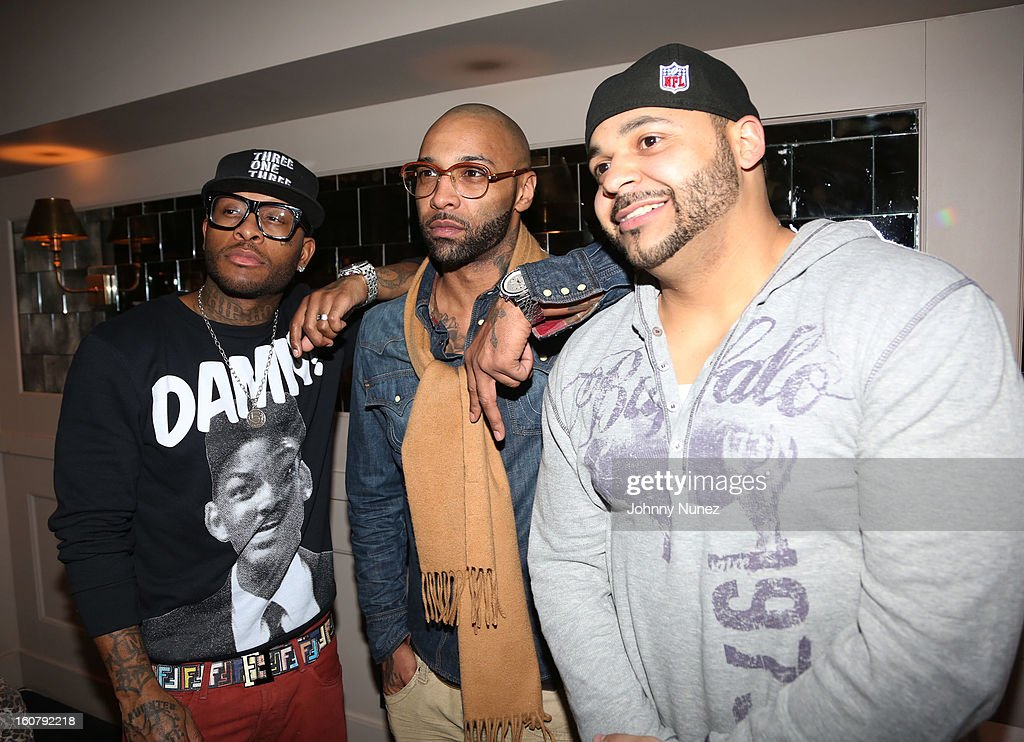 Joe Budden's 'No Love Lost' Album Release Dinner : News Photo