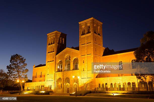 UCLA Royce Hall after Sunset