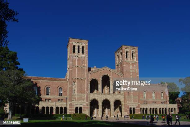 royce hall at ucla - westwood neighborhood los angeles stock pictures, royalty-free photos & images