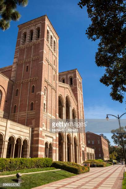 royce hall on the ucla campus - westwood neighborhood los angeles stock pictures, royalty-free photos & images