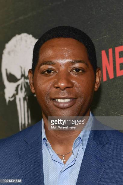 Royce Johnson attends Marvel's The Punisher Los Angeles Premiere at ArcLight Hollywood on January 14 2019 in Hollywood California