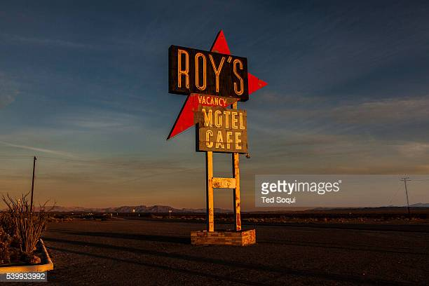 Roy's Cafe US Route 66 also known as the Mother Road in the Mojave desert of California The two major connector cites in the Mojave desert are...