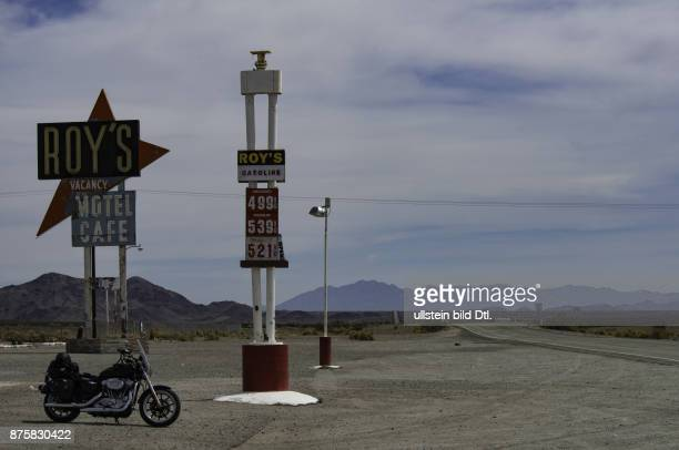 Roy's Gasoline Amboy Route 66 USA California to Illinois California to Illinois