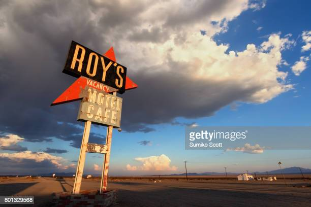 Roy's Motel and Cafe at Sunset