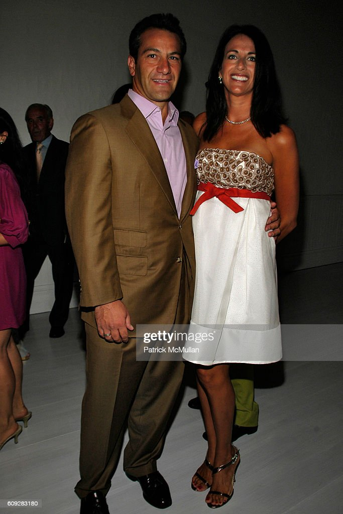 Roys Poyiadjis and Donna Poyiadjis attend The Parrish Art Museum Midsummer Party Honoring Director Trudy C. Kramer at Southampton on July 14, 2007.