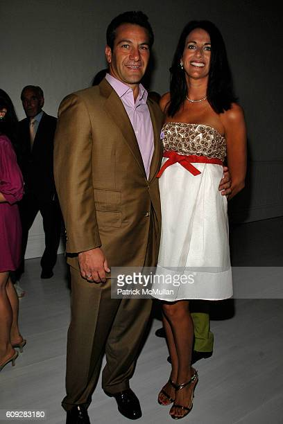 Roys Poyiadjis and Donna Poyiadjis attend The Parrish Art Museum Midsummer Party Honoring Director Trudy C Kramer at Southampton on July 14 2007
