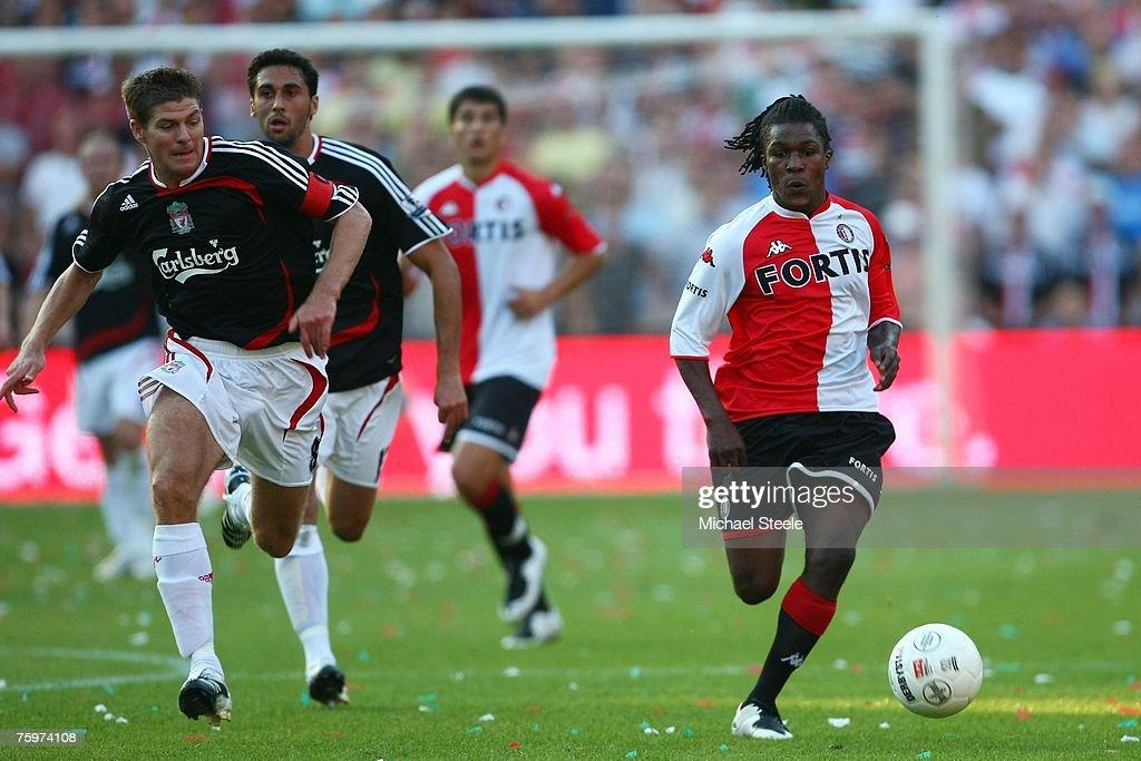 Feyenoord v Liverpool - Rotterdam Tournament : News Photo