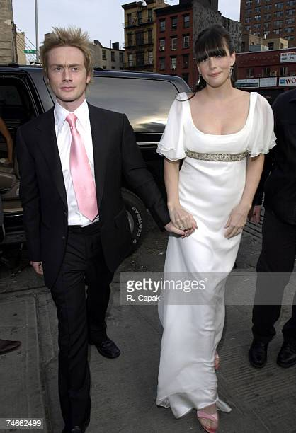 Royston Langdon and Liv Tyler at the New York City in New York City New York