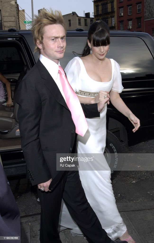 Royston Langdon And Liv Tyler During Renew Their Wedding Vows At