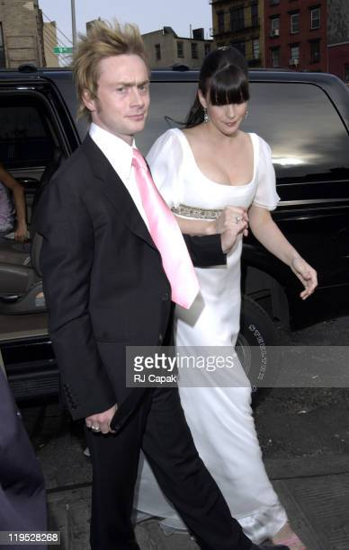 Royston Langdon and Liv Tyler during Liv Tyler and Royston Langdon Renew Their Wedding Vows at New York City in New York City, New York, United...