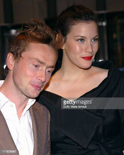 Royston Langdon and Liv Tyler during MoMA Presents its 5th Annual Film Benefit, A Work in Progress: An Evening with James Mangold at The Museum of...