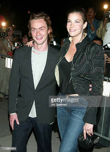 Royston Langdon & Liv Tyler during Mercedes Benz Fashion Week 2003 - Opening of the First Stella McCartney Store Worldwide at Stella McCartney Store...