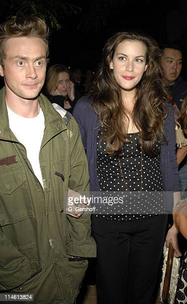 """Royston Langdon of Spacehog and Liv Tyler during The Cinema Society and Hugo Boss presents the premiere of """"Allegro"""" - Party at The Yard at the Soho..."""