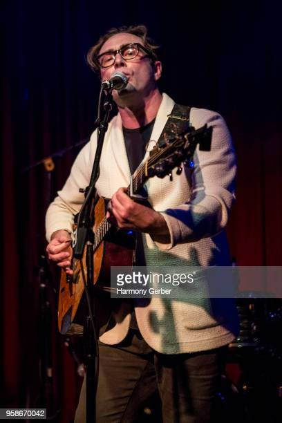 Royston Langdon of the band LEEDS performs at Hotel Cafe on May 14, 2018 in Los Angeles, California.