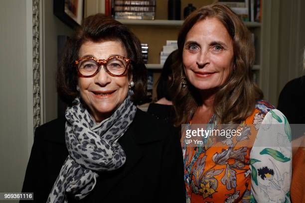 Roz Jacobs and Kathy Dean attend the launch of Joseph Cicio's new book Friends** Bearing Gifts at The Lowell Hotel on May 16 2018 in New York City