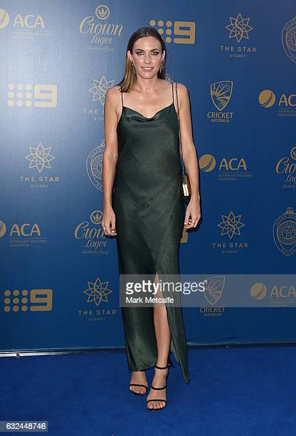 Roz Kelly arrives ahead of the 2017 Allan Border Medal at The Star on January 23 2017 in Sydney Australia