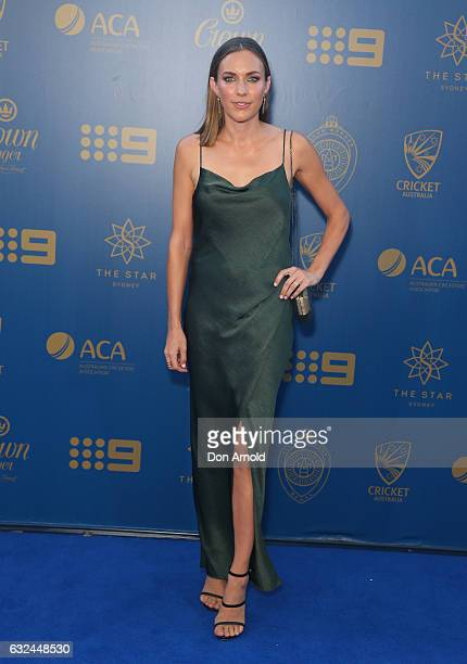Roz kelly stock photos and pictures getty images roz kelly arrives ahead of the allan border medal at on january 23 2017 in sydney sciox Gallery