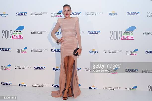 Roz Kelly of Australia at the 2013 ASP World Surfing Awards on February 28 2013 in Surfers Paradise Australia