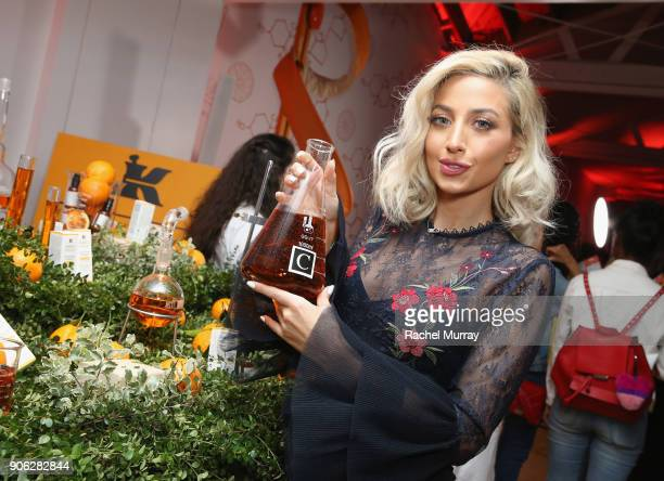 Roz Roza at Kiehl's Turns Up the PotentC with the NEW PowerfulStrength LineReducing Concentrate on January 17 2018 in West Hollywood California