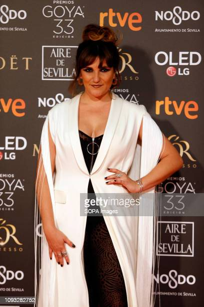 EXHIBITION SEVILLA ANDALUSIA SPAIN Rozalen attends Goya Cinema Awards 2019 at FIBES Conference and Exhibition Centre