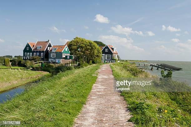 Rozewerf in Marken, The Netherlands