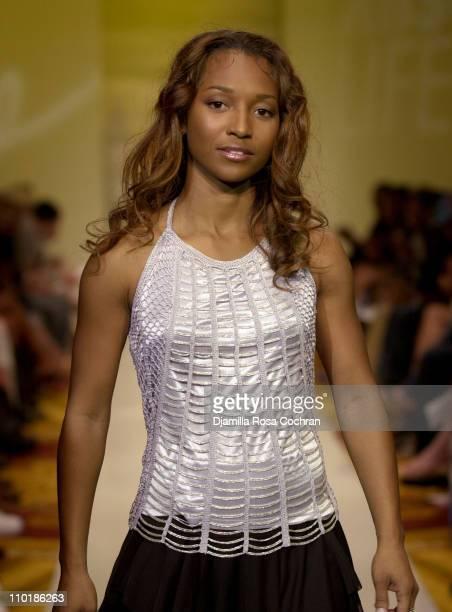 Rozonda Chilli Thomas of TLC during MercedesBenz Fashion Week Spring 2004 Absolut Lifestyle and Honey Magazine present Dollhouse Footwear Runway at...