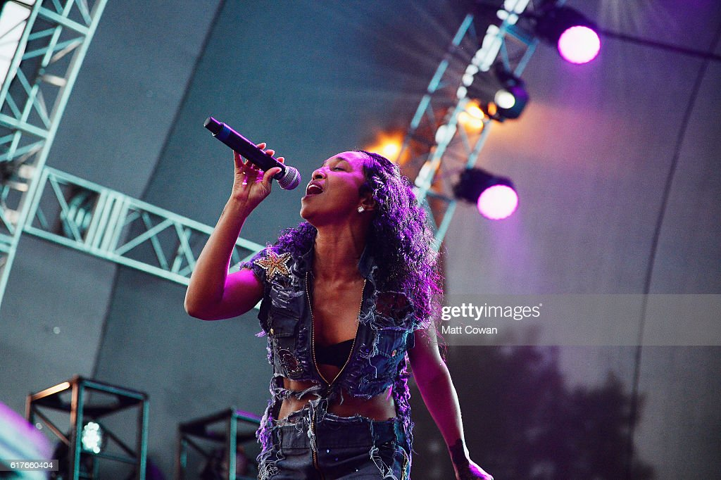 Rozonda 'Chilli' Thomas of TLC performs at the Beach Goth V Music Festival at the Observatory on October 22, 2016 in Santa Ana, California.