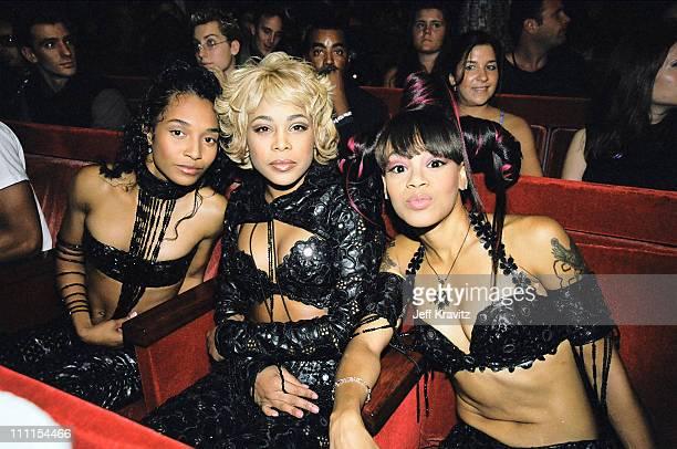 Rozonda Chilli Thomas Tionne TBoz Watkins and Lisa Left Eye Lopes of TLC