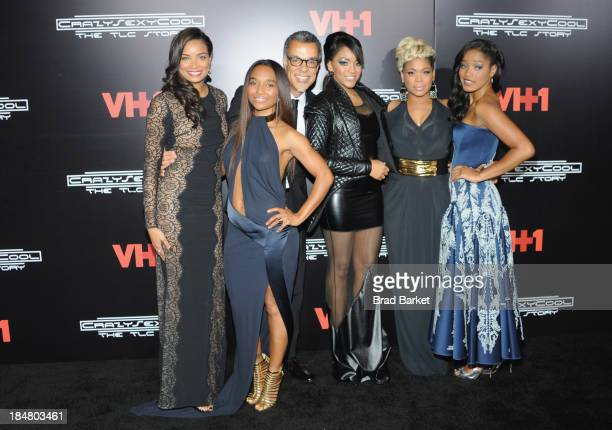 Rozonda Thomas Charles Stones lll Drew Sidora and Tionne Watkins attend CrazySexyCool Premiere Event at AMC Loews Lincoln Square 13 theater on...