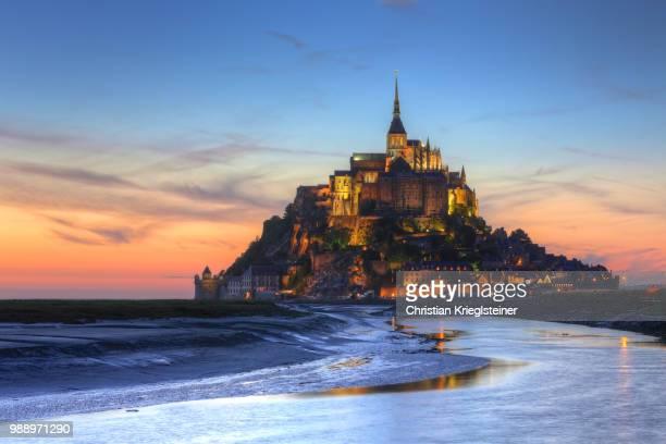 roz-sur-couesnon,france - モンサンミッシェル ストックフォトと画像