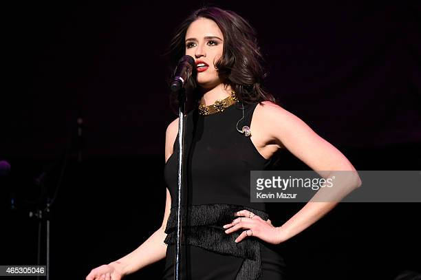 Rozzi Crane performs onstage at Madison Square Garden on March 5 2015 in New York City
