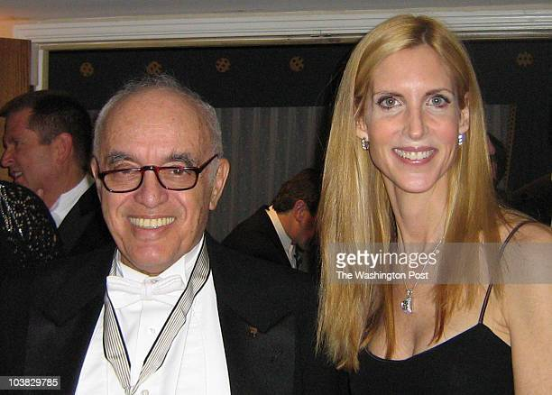 rsgridiron DATE Downloaded CREDIT Roxanne Roberts/TWP CAPTION Bob Novak and Ann Coulter at Gridiron Dinner March 8 2008