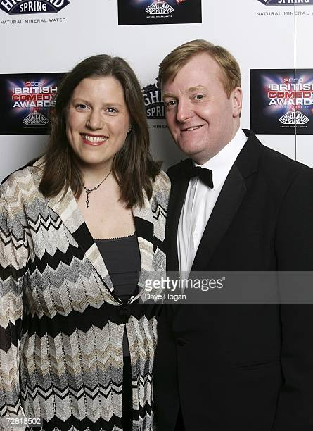 Rt Hon Charles Kennedy MP and his wife Sarah arrive at the British Comedy Awards 2006 at London Television Studios on December 13 2006 in London...