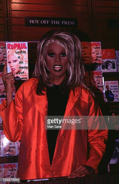 Ru Paul during Letting It All Hang Out at Barnes Noble in New York City New York United States
