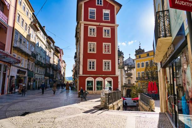 Rua Ferreira Borges in Coimbra, Portugal